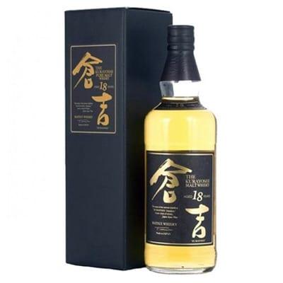 Kurayoshi Malt 18 Años Whisky. Tienda de Whisky Japonés