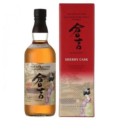 Kurayoshi Malt Sherry Cask Whisky. Tienda de Whisky Japonés