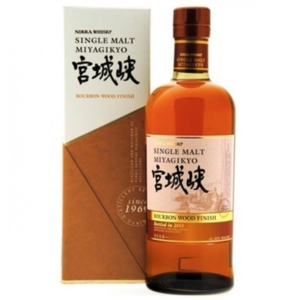 Miyagikyo Bourbon Wood Finish Whisky. Whisky Japonés