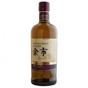 Nikka Yoichi Rum Wood Finish Whisky. Whisky Japonés