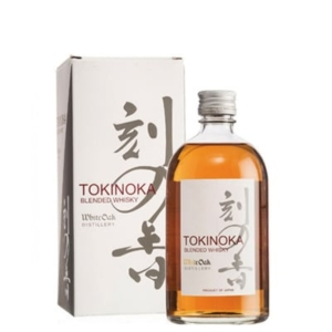 Tokinoka Blended Whisky White Oak. Whisky Japonés.