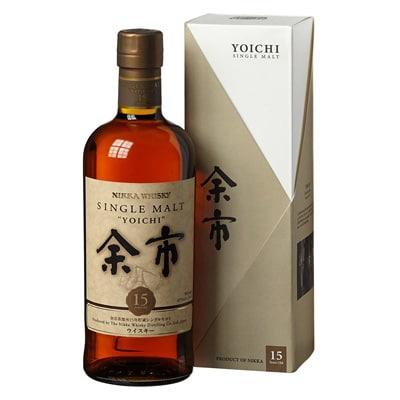 Nikka Yoichi 15 Años. Tienda de Whisky Japonés.