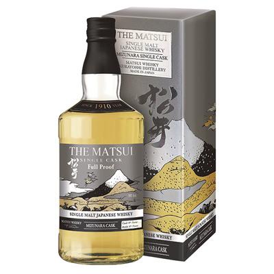 Matsui Mizunara Cask Strength. Tu Tienda Online de Whisky Japonés